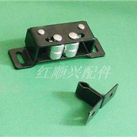供应烤箱配件防爆锁红顺兴HS-115-1碰珠门扣,夹式门锁