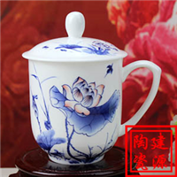 供应陶瓷纪念茶杯,公司礼品茶杯,定做茶杯