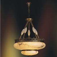 别墅餐厅灯具 餐厅灯饰 欧式别墅餐厅吊灯