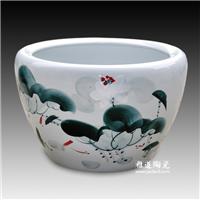 陶瓷金鱼缸,园林装饰大缸,陶瓷大缸厂家