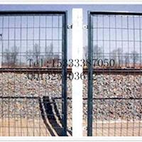 黄色护栏网 浸塑护栏网