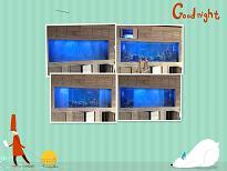 供应调光投影玻璃四川泸州鱼缸投影案例