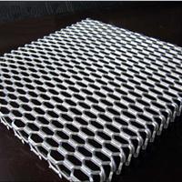 铝拉网吊顶  网格铝板  扩张网天花厂家直销