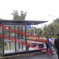 供应钢结构玻璃岗亭/钢结构治安岗亭