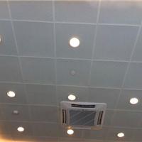 办公楼600*600铝扣板吊顶