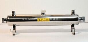 供应2吨/小时40w不锈钢紫外线杀菌器