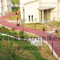 深圳广西 彩色透水混凝土地坪厂家直销