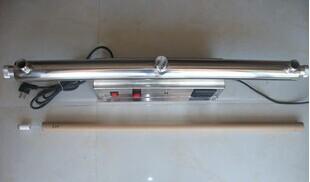 供应40W304不锈钢管道连体式紫外线杀菌器