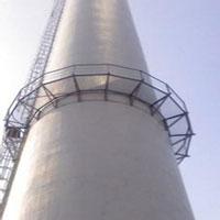 烟囱防腐浇注料的施工方法