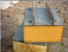 管道底托聚氨酯硬质导向管托,保冷垫块介绍