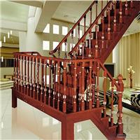 供应钢木楼梯旋转楼梯玻璃护栏楼梯扶手