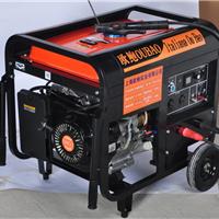 供应190A汽油发电电焊机真实图片