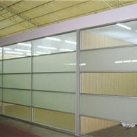 现化供应单层玻璃隔墙型材厂家