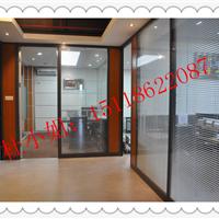 快速订制现代办公室隔断 铝框玻璃隔断