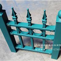 上海锌钢护栏、别墅围墙栏杆、博盾护栏