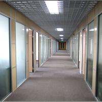 现货供应办公玻璃隔断型材厂家