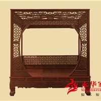 【红木大床价格】广东永华红木家具优质服务