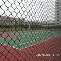 供应足球场排球场网球场PE包塑塑胶围网