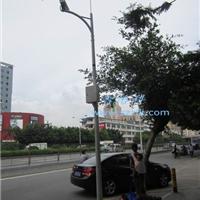 深圳平安城市圆锥监控立杆