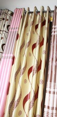供应窗帘、电动窗帘、铝百叶、卷帘等