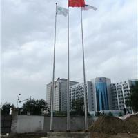 供应HSQG001 陕西学校18米不锈钢电动旗杆