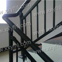 不锈钢加玻璃楼梯护栏工程玻璃阳台护栏楼盘