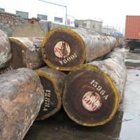 供应赞比亚血檀原木上海现货非洲血檀原木