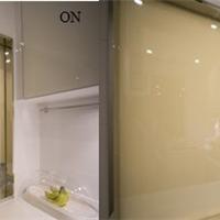 供应电控调光膜 液晶调光膜 带胶贴玻璃