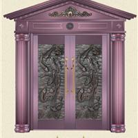 供应仿铜玻璃门