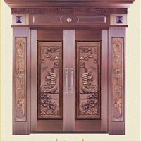 供应豪华铜门