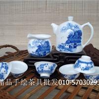 供应景德镇茶具,青花瓷茶具,手工艺品