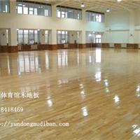厂家供应篮球馆木地板枫木运动地板