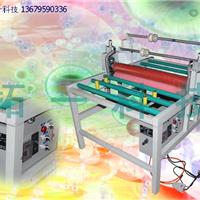 玻璃晶钢门生产设备覆膜机