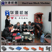 QT6-15全自动免烧空心砖机 大型水泥砖机
