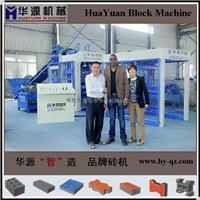华源QT6-15全自动水泥液压铺砖机 空心砖机