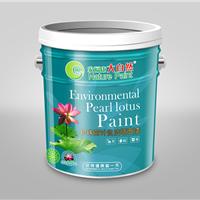 供应陕西渭南珍珠荷叶自洁墙面漆精品乳胶漆