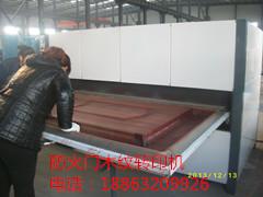 供应钢木门木纹转印机