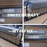 供应MT48FNX跳线盘Switchcraft