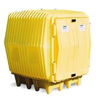 防泄漏油桶储存屋/化学品移动仓库/化学品柜