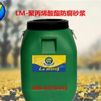 供应鲁蒙(LM)牌聚丙烯酸酯防腐砂浆