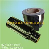 长期供应特殊压纹底(小方格) 光黑PVC