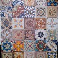 供应莱立雅陶瓷小花砖仿古地砖