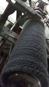 供应工业毛刷辊  机械毛刷辊  毛刷辊