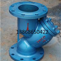 供应Y型GL41H-16C重型碳钢法兰过滤器