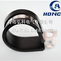 供应包塑金属管夹,电缆线卡子