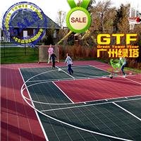 供应篮球网球幼儿园悬浮式拼装塑胶地板