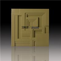 高分子立体墙面 新型环保装饰3D板材