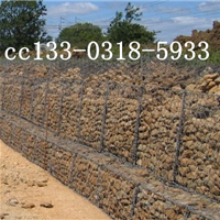 抛石护脚格宾石笼,4mmpvc河道护脚格宾网笼