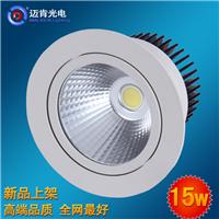 节能高品质15W筒灯圆形质量保证led筒灯FR15