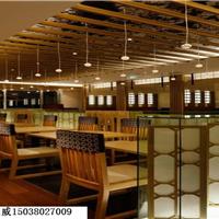 供应许昌日本料理餐厅装修设计体现日本风
